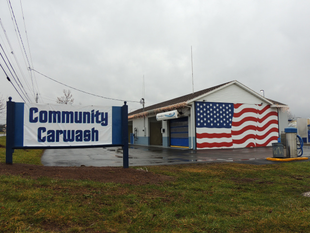 community car wash in oneida ny on corner of 365a and wilson st